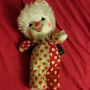 Vintage Wind Up Musical Clown MY LITTLE FRIEND